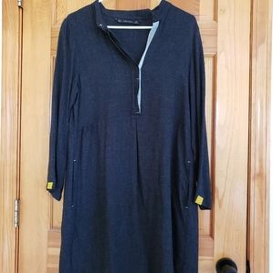Zara Basics wool dress/tunic